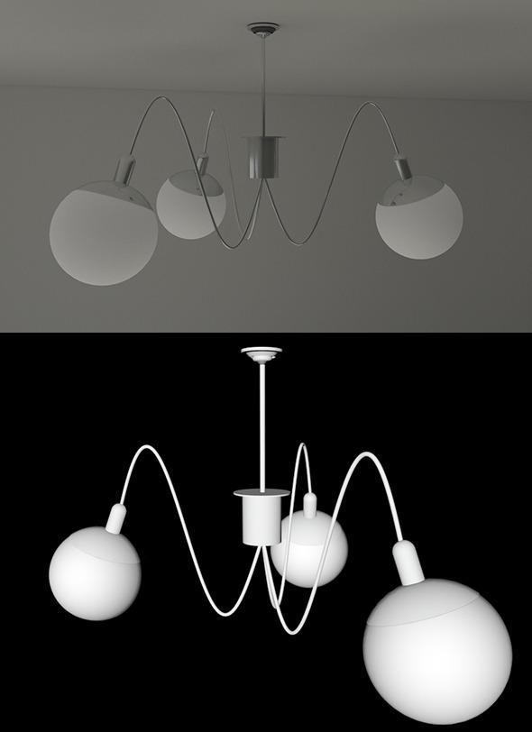 3DOcean Modern Lamp 4557385