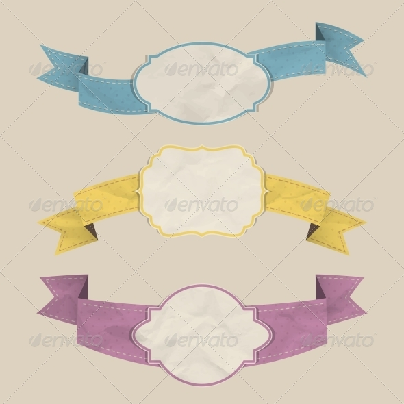 GraphicRiver Ribbons Set 4558178