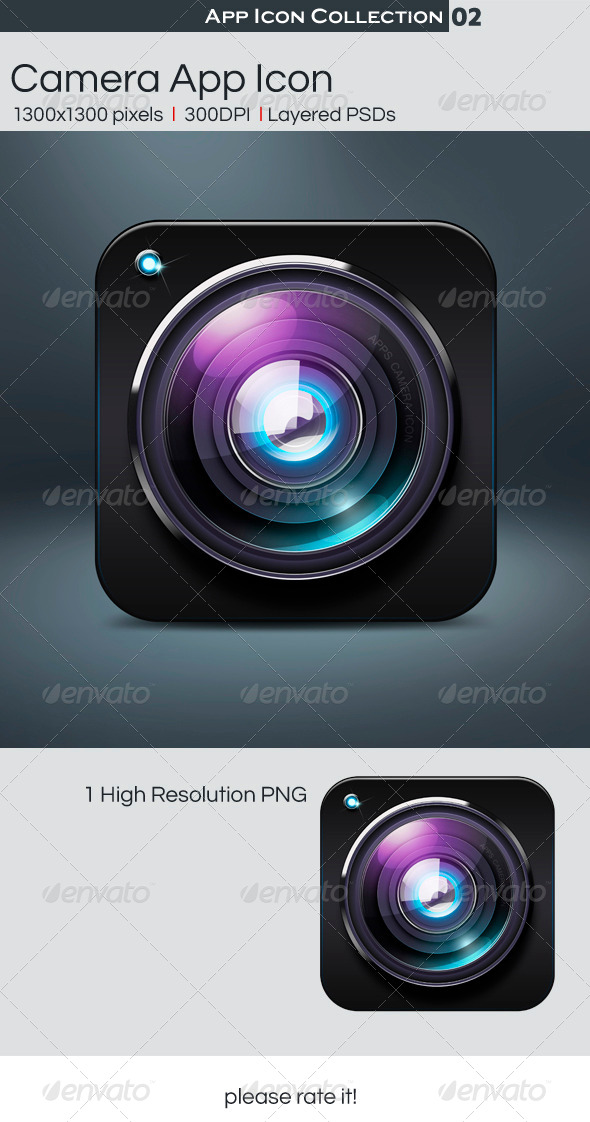 GraphicRiver Camera App Icon 4558246