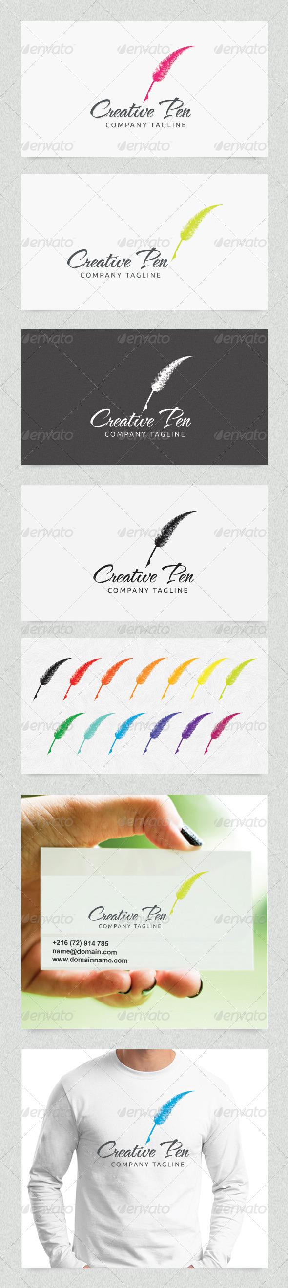 GraphicRiver Creative Pen 4508652