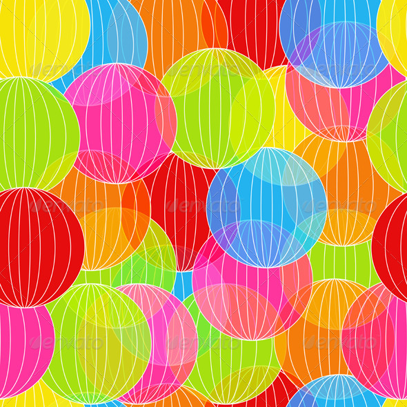 GraphicRiver Abstract Colorful Balloon 4558733