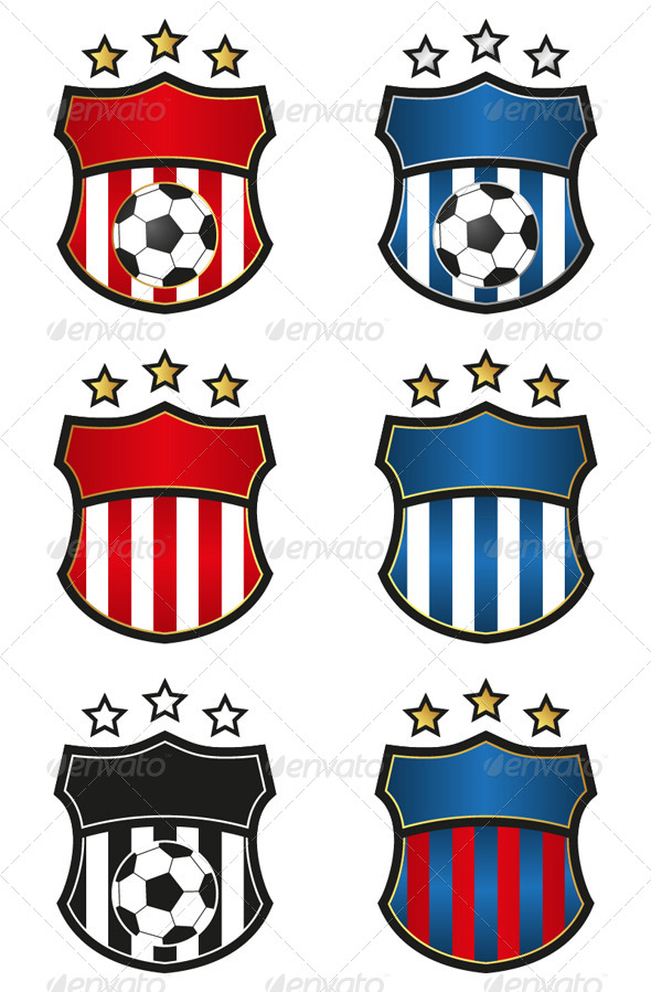 GraphicRiver Soccer Team Emblem 4482869
