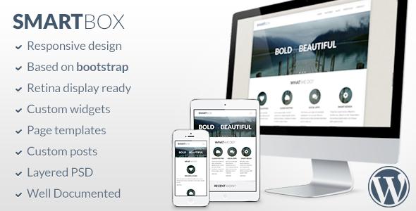 ThemeForest SmartBox Responsive Wordpress Bootstrap Theme 4545757