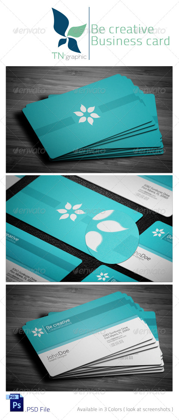GraphicRiver Corporate Business Card II 4559280