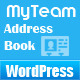 MyTeam - WordPress Members/Staff Address Book