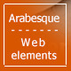 Charming Arabesque Web Elements - GraphicRiver Item for Sale