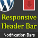Wp Header Bar - WordPress Notification Bar