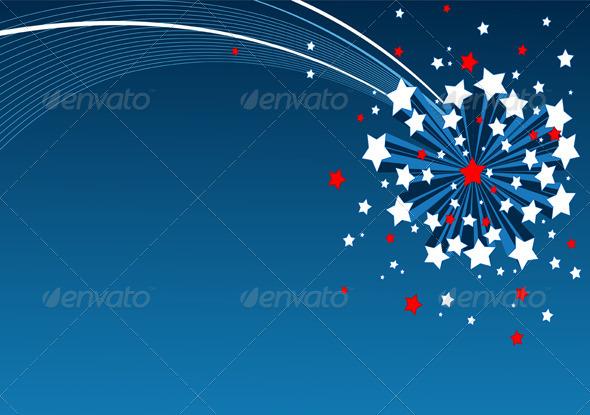 GraphicRiver American Starburst Background 4559815