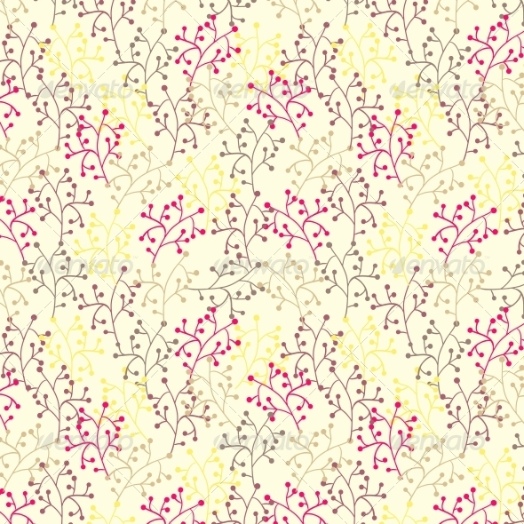 GraphicRiver Floral Seamless Pattern 4560142