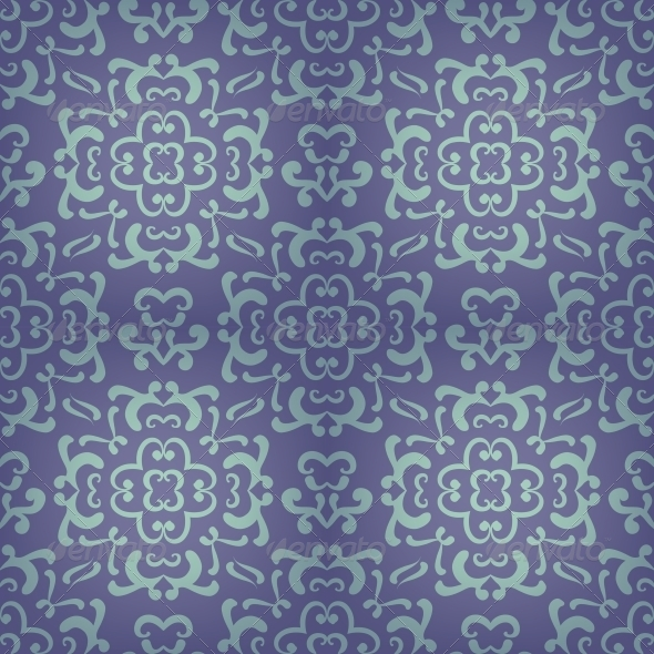 GraphicRiver Ornamental Damask Pattern 4560174