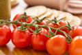 Cherry Tomato And Crackers - PhotoDune Item for Sale