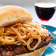 Steak And Onion Burger - PhotoDune Item for Sale