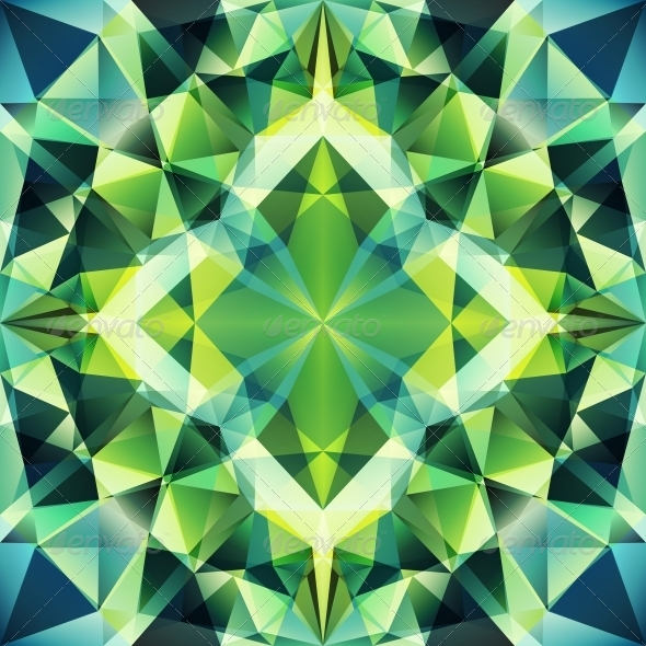 GraphicRiver Abstract Triangle Background 4560333