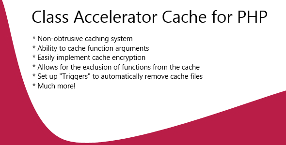 CodeCanyon Class Accelerator Cache for PHP 4531342