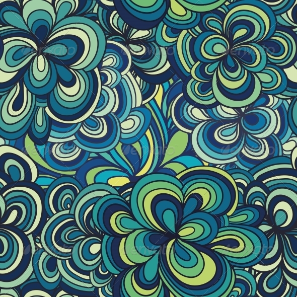GraphicRiver Seamless Abstract Hand-Drawn Pattern 4560374