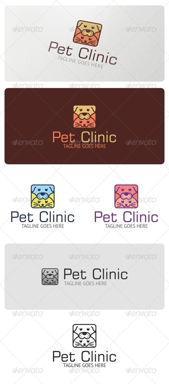 Pet Clinic Logo Template