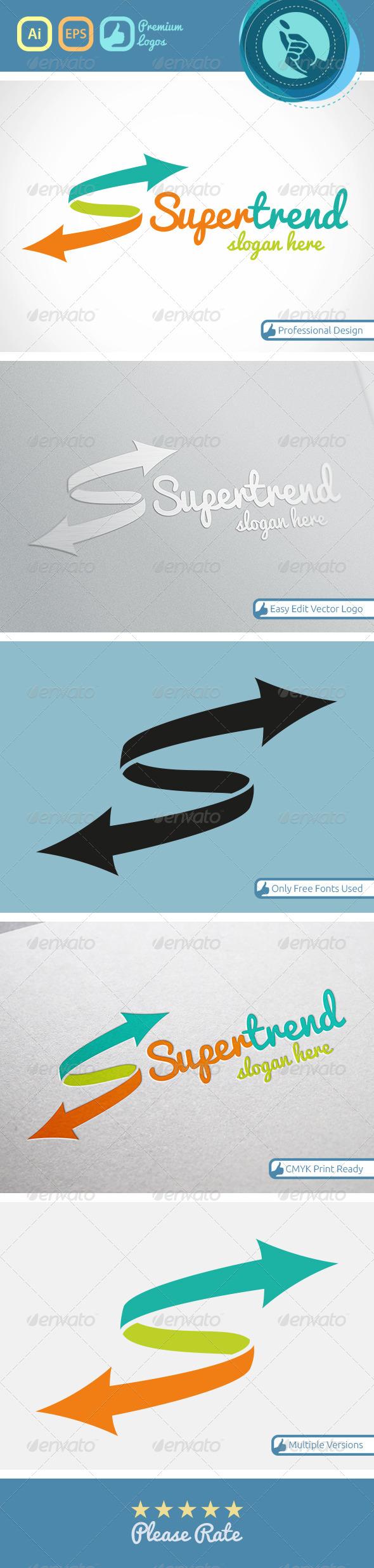 GraphicRiver Super Trend Logo 4532252
