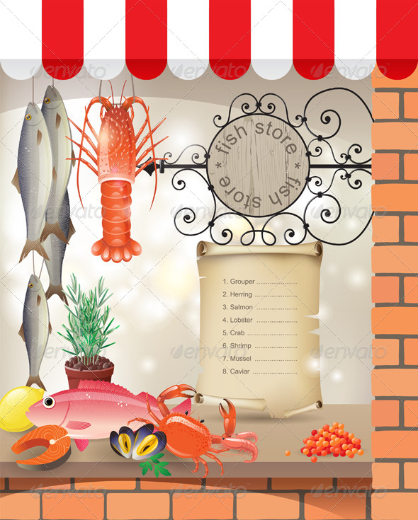 GraphicRiver Fish Store 4562408
