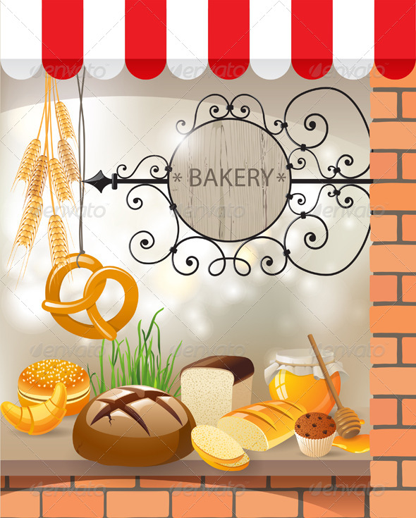 GraphicRiver Bakery 4562443
