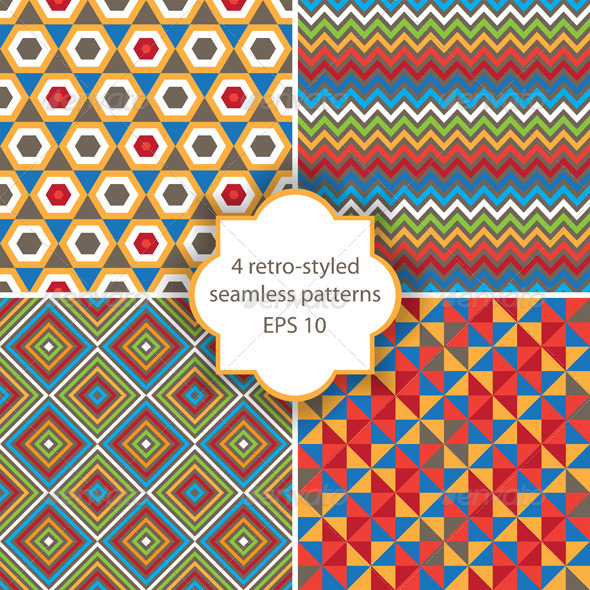 GraphicRiver Seamless Patterns 4562465