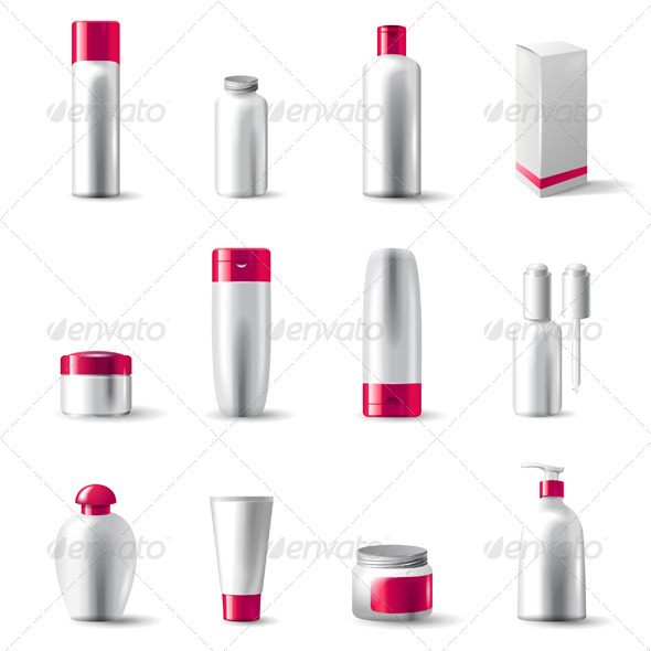 GraphicRiver Cosmetics Package 4562474
