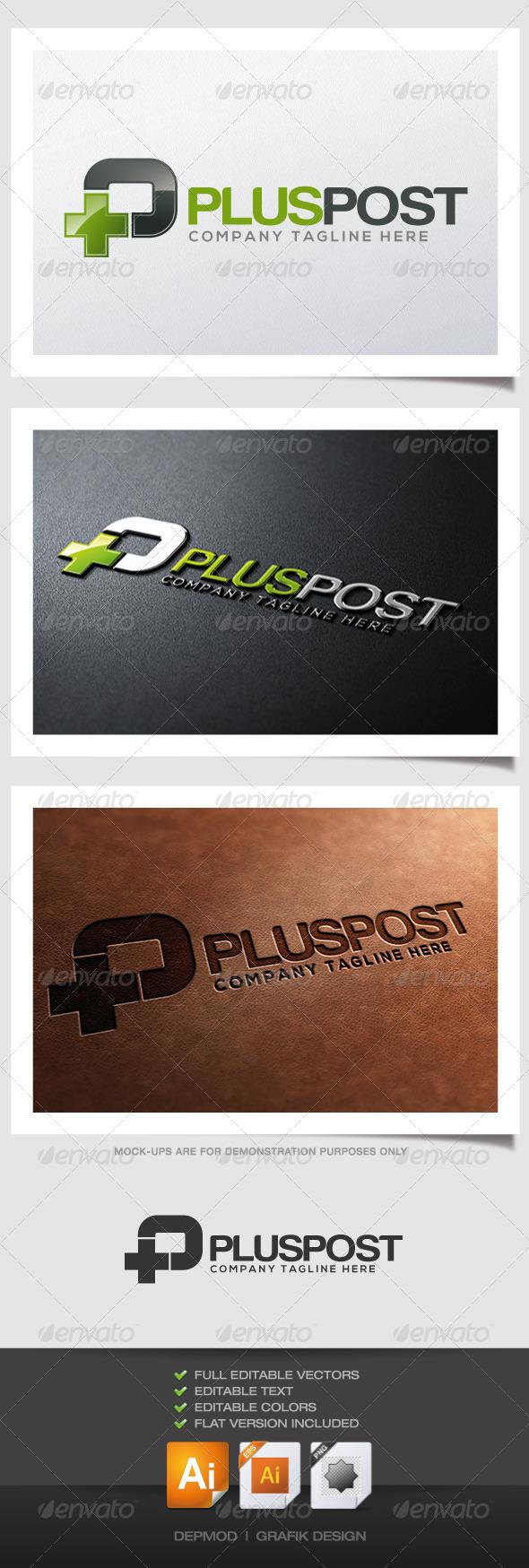 GraphicRiver Plus Post Logo 4562967