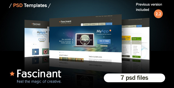 PSD Template - Fascinant