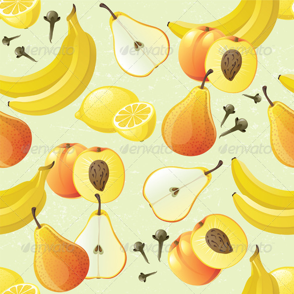 GraphicRiver Fruit Seamless 4563359