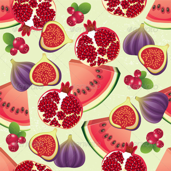 GraphicRiver Fruit Seamless 4563407