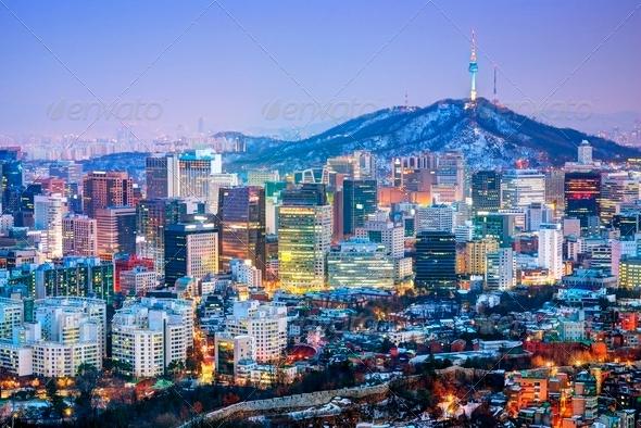 City of Seoul Korea - Stock Photo - Images