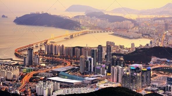 Busan, South Korea - Stock Photo - Images