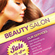 Salon / Spa Flyer in 3 Colors - GraphicRiver Item for Sale