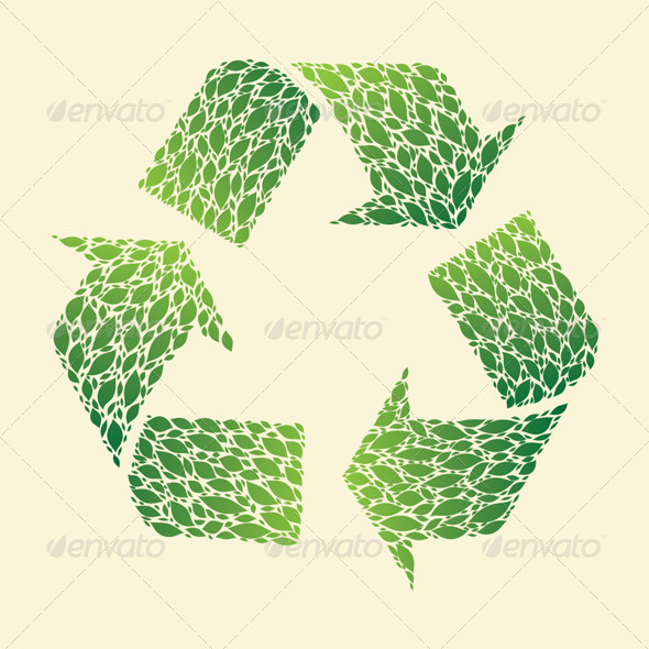 GraphicRiver Leaf Recycle 4563728