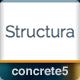 Structura Responsive Multi-Purpose Concrete5 Theme  Free Download