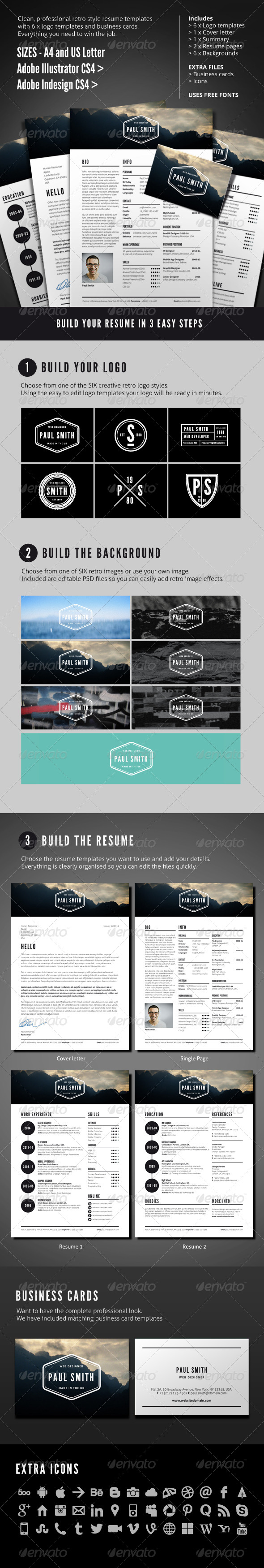 GraphicRiver JOB RESUME 4563800