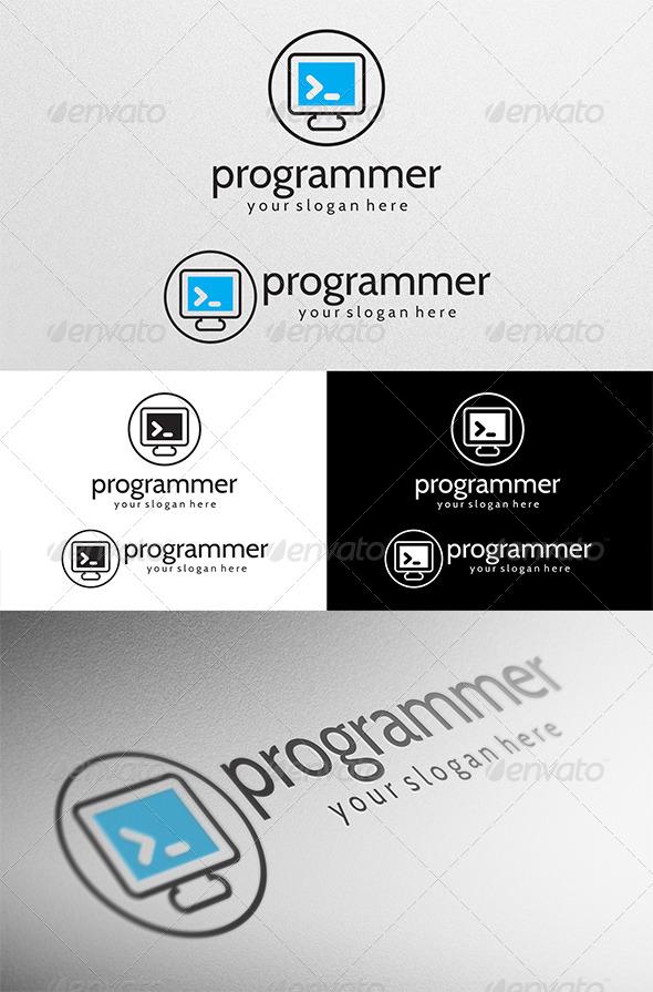 GraphicRiver Programmer Logo 4531792