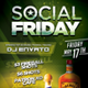 Social Fridays Flyer Template - GraphicRiver Item for Sale