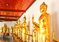 Golden Buddha image in wat pho temple ,Bangkok ,Thailand. - PhotoDune Item for Sale