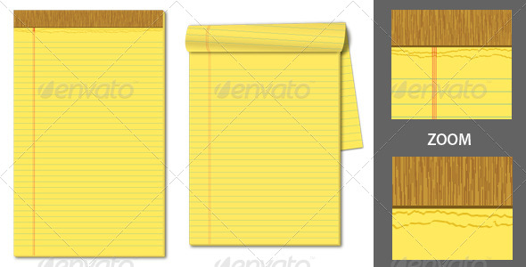 GraphicRiver Legal Pads 4518016