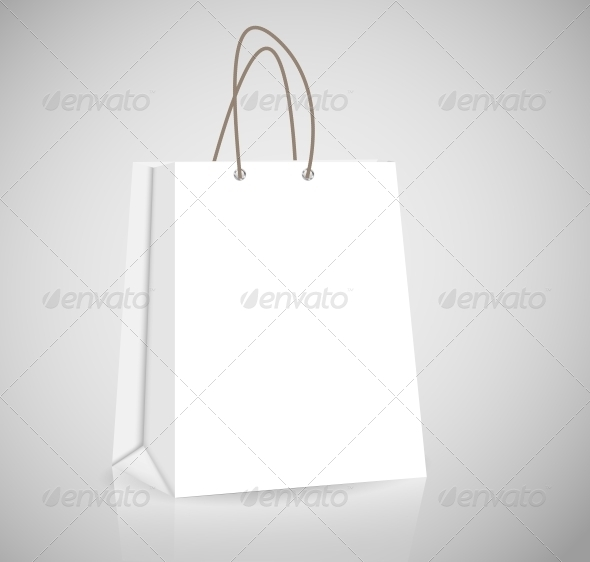 GraphicRiver Empty Shopping Bag for Advertising and Branding 4565717