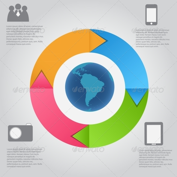 GraphicRiver Infographic Template 4565736