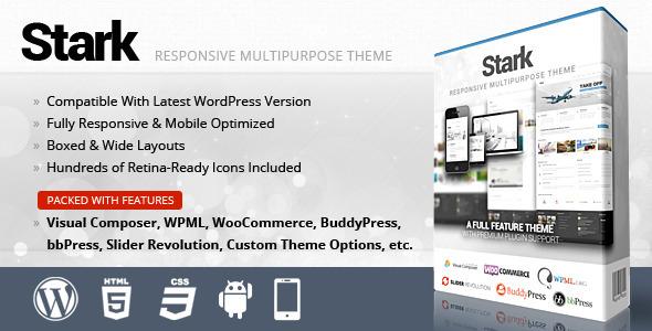 ThemeForest Stark Responsive Multipurpose WordPress Theme 4565745