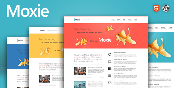 ThemeForest Moxie Responsive Theme for WordPress 4566277