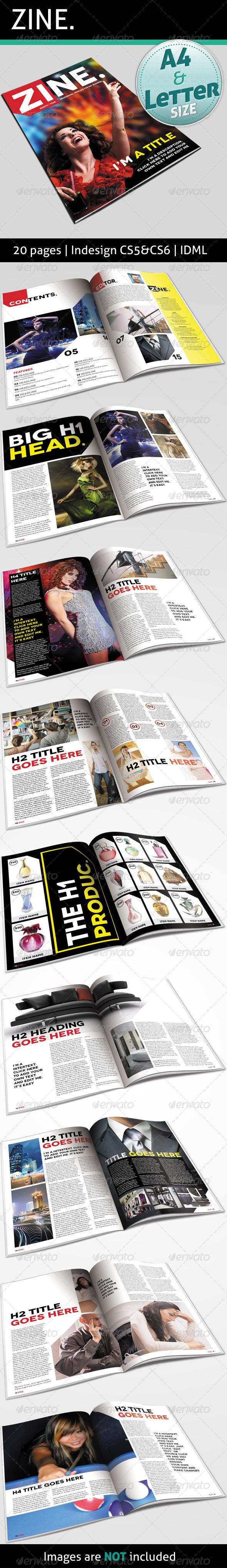 GraphicRiver Zine 4566416