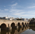 Roman Bridge Mirada Spain - PhotoDune Item for Sale
