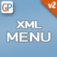 Advanced XML Menu - v2 Horizontal with full Customization & Sub Menu - ActiveDen Item for Sale