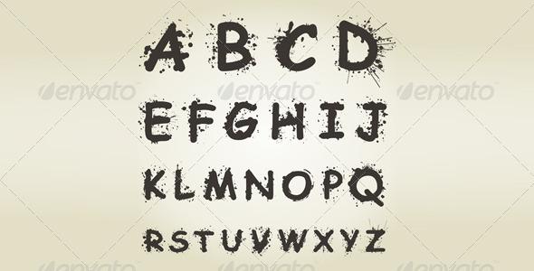 Alphabet Blot