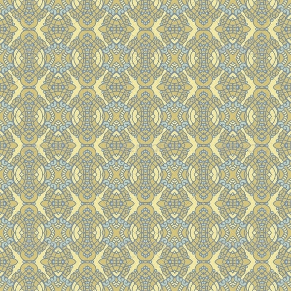 GraphicRiver Seamless Colorful Retro Pattern Background 4566716