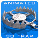 Animated 3D Trap - 3DOcean Item for Sale