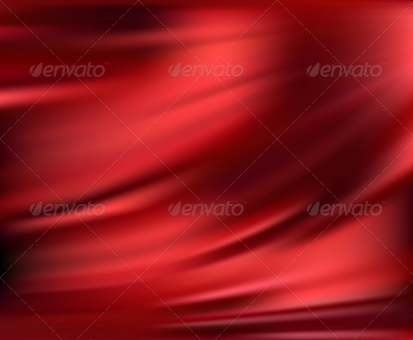 GraphicRiver Abstract Vector Texture Red Silk 4566907